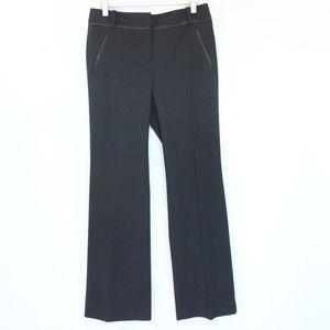 LOFT Julie Trouser sz 2 Petite Bootcut Pants Black
